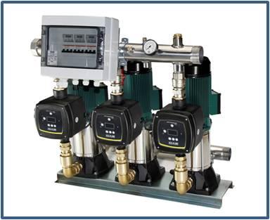Насосная станция повышения давления DAB 3 KVC-AD с частотным управлением