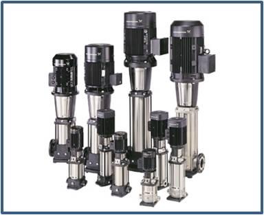 Насос вертикальный многоступенчатый GRUNDFOS CR 120-5-1 (артикул 95922155)