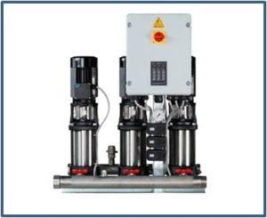 Станции повышения давления GRUNDFOS Hydro Multi-S с насосами CR