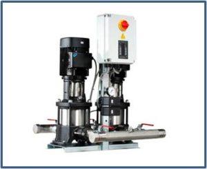 Станции повышения давления GRUNDFOS Hydro Multi-S с насосами CMV
