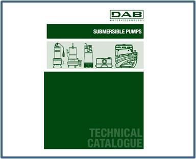 Каталог DAB дренажные насосы