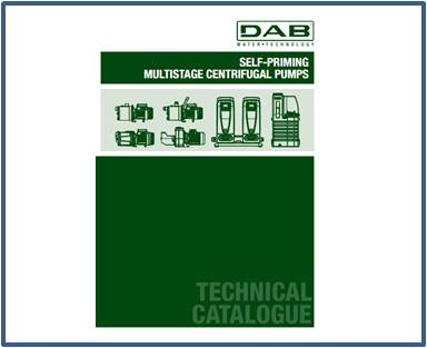Каталог DAB многоступенчатые насосы