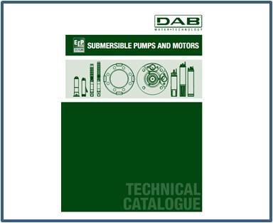 Каталог DAB скважинные насосы