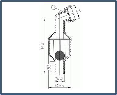 Обратный клапан HL3