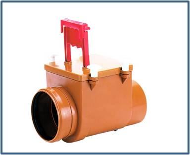 Механический канализационный затвор HL710.1