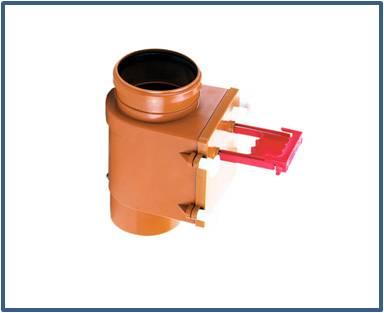 Механический канализационный затвор HL710.1V
