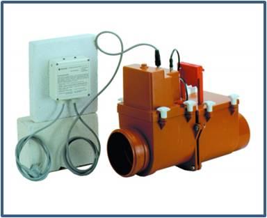Канализационный затвор с электроприводом HL712.2EPC