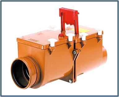 Механический канализационный затвор HL715.2