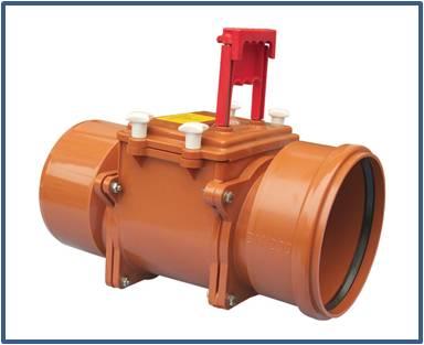 Механический канализационный затвор HL720.1