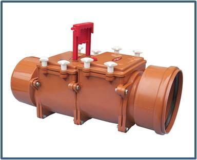 Механический канализационный затвор HL720.2