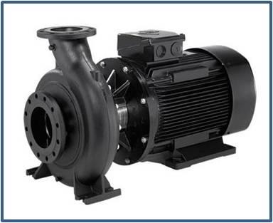 Насос консольный моноблочный GRUNDFOS NB 40-250/245 A-F-A-BAQE 2,2 кВт 1450 об/мин (артикул 97839371)