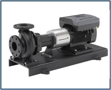 Насос консольный Grundfos NK 50-250/263 A2-F-A-E-BAQE 37 кВт 2900 об/мин (артикул 97830118)