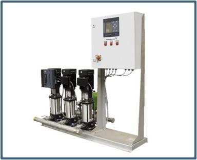 Станция повышения давления GRUNDFOS Hydro MPC-S 2 CR 3-7 (артикул 95044663)