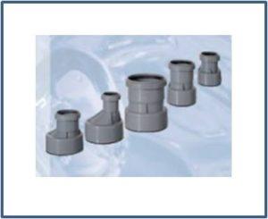 Переходники для канализационных труб HL