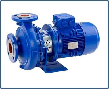 Насос консольный моноблочный KSB ETABLOC ETB 125-100-200 GGSAV11D205502 B