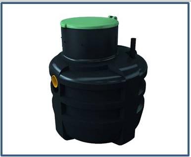 Емкость для канализационной насосной станции DAB FEKAFOS 3800 CP DN 65