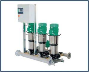 Станции повышения давления WILO на базе вертикальных насосов