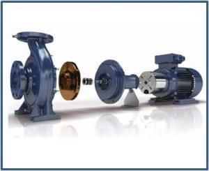 Ремонт и запасные части для насосов EBARA серии 3D