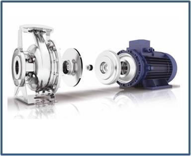 Ремонт и запасные части для насоса EBARA 3ME/I 50-200/11 IE3